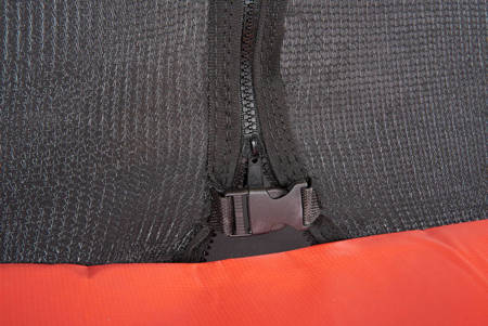 Trampolina Ogrodowa 435cm/14FT Czarna Maxy Comfort Z Wewnętrzną Siatką