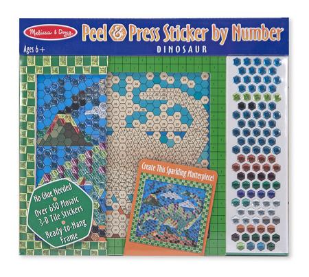 Układanka Mozaika Dinozaur  Melissa and Doug 14295