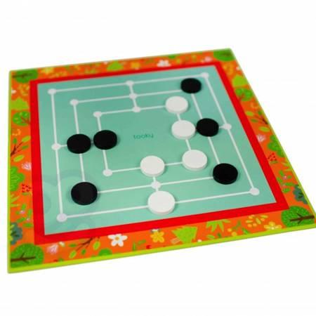 Zestaw Gier 18w1 Warcaby Karty Sudoku Kółko i Krzyżyk TOOKY TOY