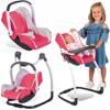 Fotelik, Huśtawka  i Krzesełko dla lalki Zestaw 3w1 Maxi Cosi Smoby
